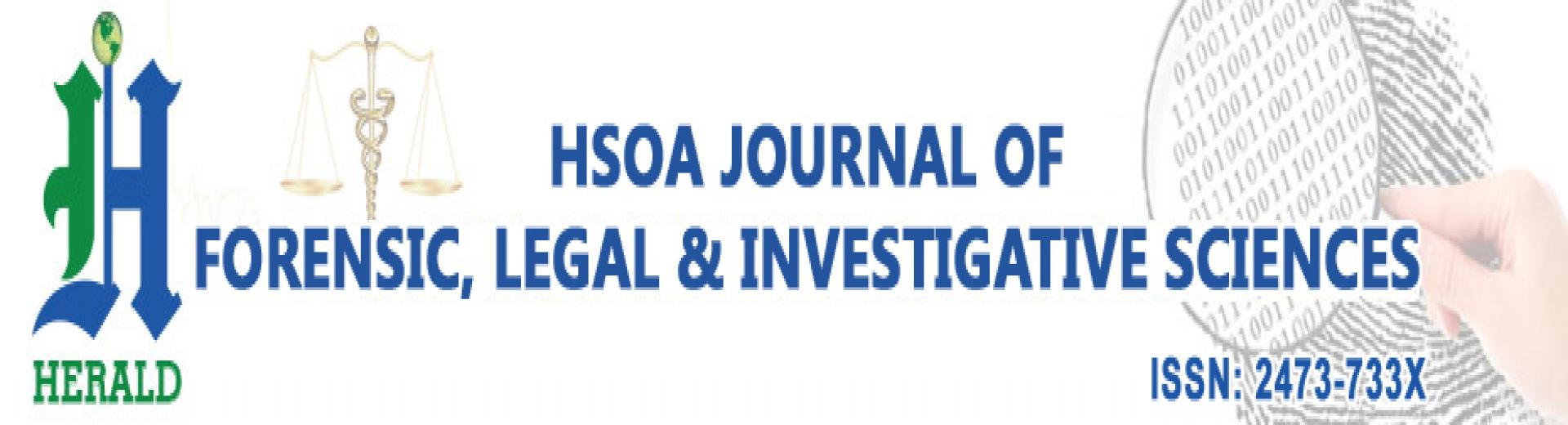 Journal Of Forensic Legal Investigative Sciences